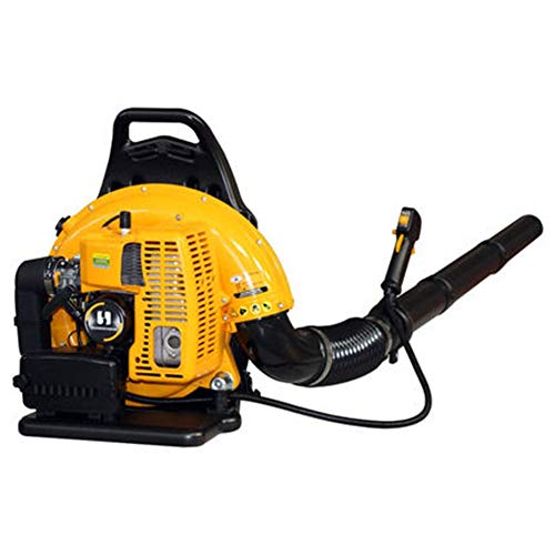 FTM Backpack snow blower, wind snow blower, durable and compact (Color : Yellow, Size : A)