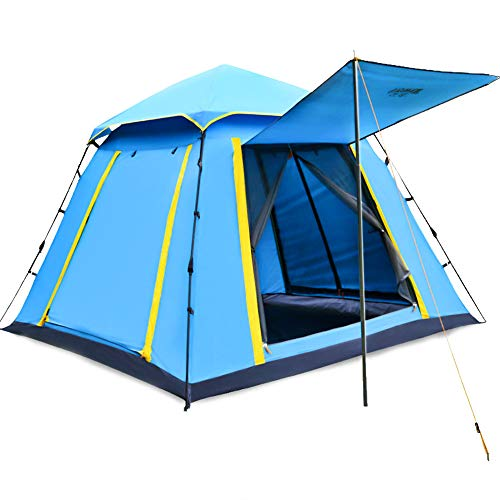 STONCEL Automatic Tent-3 4 Season Ultralight Instant Family Camping Tent-Dome Pop Up Tent Waterproof Sun Shelter for Outdoor Sports Camping Hiking Travel Beach