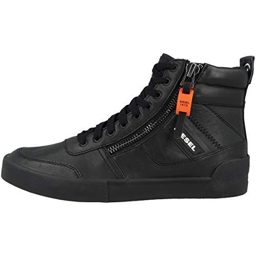 Diesel Herren D-Velows S-DVELOWS - Sneaker mid Turnschuh, schwarz, 39.5 EU