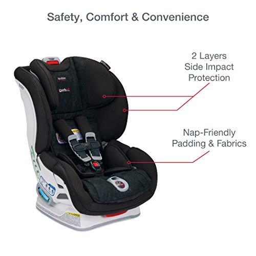 Britax Boulevard ClickTight Convertible Car Seat | 2 Layer Impact Protection - Rear & Forward Facing - 5 to 65 Pounds, Circa
