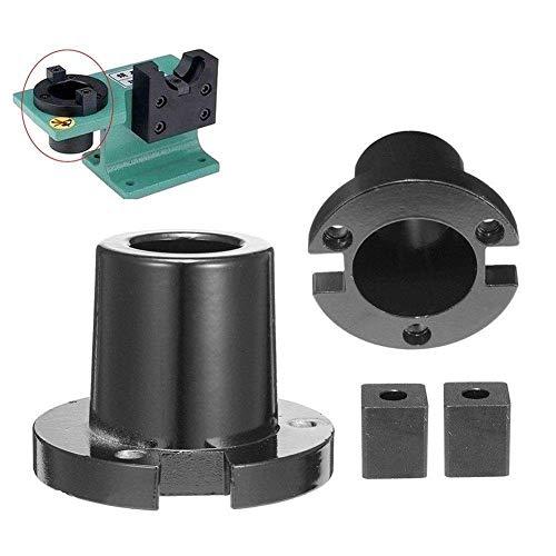 DXX-HR CAT40 - Soporte de herramientas de aluminio para tornillo de apriete