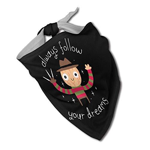 Sdltkhy Always Follow Your Dreams, Halstuch für Hunde, Dreieckstuch, Lätzchen, Schals, Accessoires, Haustiere, Katzen und Babywelpen