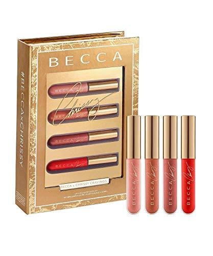Becca Cosmetics Chrissy Teigen Lip Icing Glow Lipgloss-Set