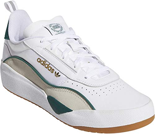 adidas Skateboarding Liberty Cup Footwear White/Collegiate Green/Clear Brown 9 D (M)