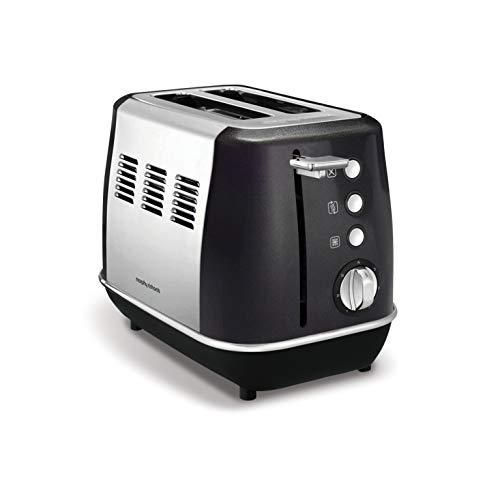 Morphy Richards Evoke Cream 2 Slice Toaster, Stainless Steel, 850 W, 1.47 Kilograms