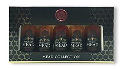 Lyme Bay 5-Piece Miniature Mead Gift Box, 5 cl