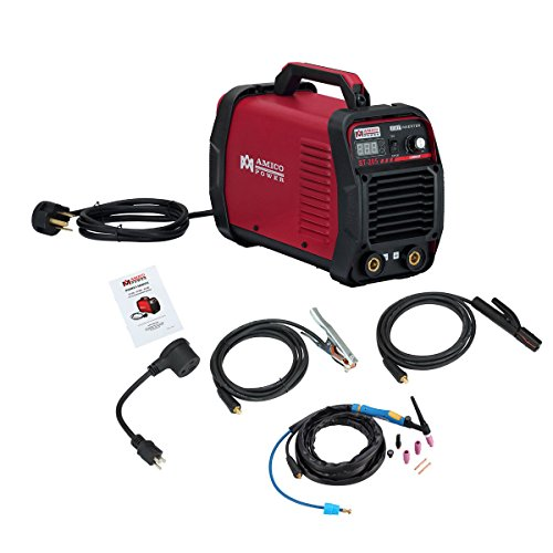 AMICO POWER XYST20502018 ST-205 Amp Lift-TIG Torch/Stick/Arc Welder, Red
