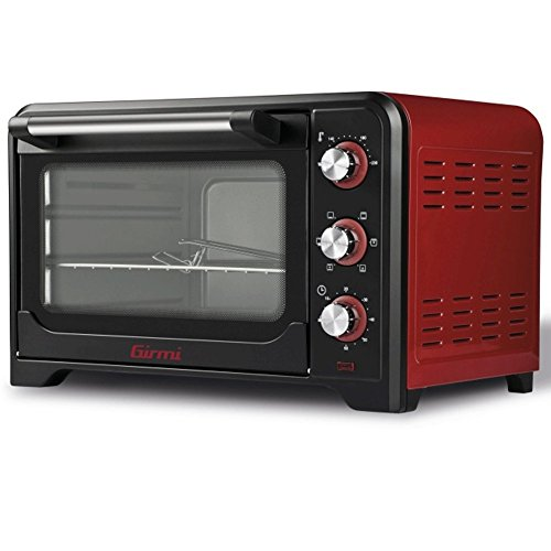 Girmi FE3500 Four électrique, 1600 W, acier inoxydable, rouge