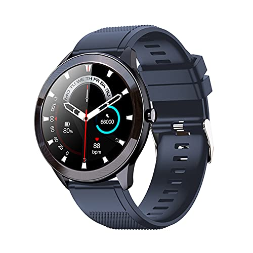 YDK SN93 Smart Watch Men's Mujeres IP68 Impermeable Monitor de Ritmo cardíaco Monitor Fitness Tracker Bluetooth Reloj Deportes Smartwatch para Android iOS,D