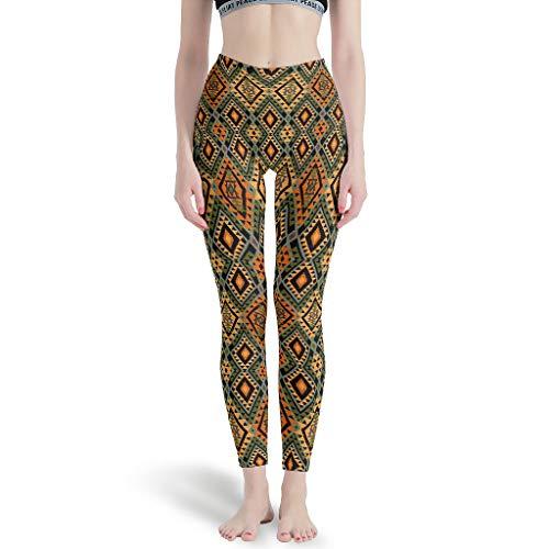 XJJ88 -Graphics Broek Strakke Ankles Vrouwen, Digitale Leggings Patroon Etnisch Patroon Grafische Patronen Zomer Capri Panty Leggings voor Vrouwen Plezier
