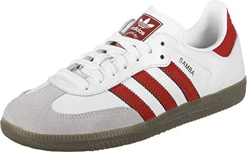 adidas Samba Og Boys Fitness Shoes White FtwblaEscarlBalcri 000 45 UK 37 13 EU