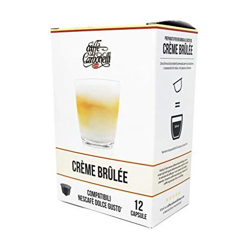 Creme Brulee - Box 48 capsule compatibili Dolce Gusto - (4x12) Caffè Carbonelli