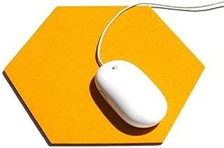 Merino Wool Felt Hexagon Mouse Pad