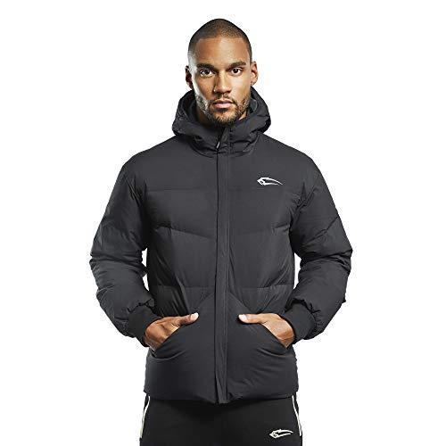 SMILODOX Veste d'hiver SUB Zero pour homme - Veste pour sport et loisirs - Veste de survêtement - Veste de fitness - Pull de sport avec fermeture éclair - Noir - XXX-Large