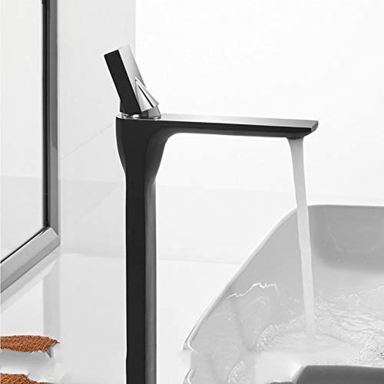 Lddpl Wasserhahn Basin Faucet Retro schwarz Faucet Taps Bathroom Sink Faucet Single Handle Hole Deck Vintage Wash Hot Cold Mixer Tap Crane