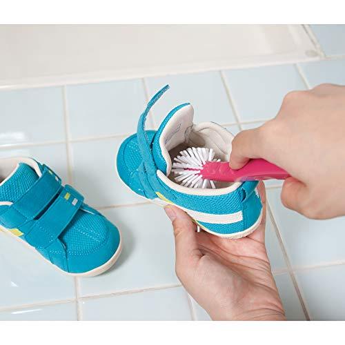 アズマ『靴洗浄用ブラシぐるぐる洗えるシューズブラシ』