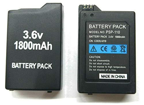 Desconocido Bateria para Sony PSP 1000 1001 1003 1004 100X Fat Gorda 1800 mAh 3.6v Modelo PSP-110