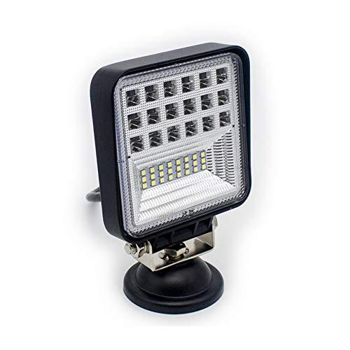 QCLU 126W LED Luz de Trabajo 42 Cuentas Foco SUV Spot Beam ATV Camión Lámpara de Reacondicionamiento Luces de Niebla de Conducción Lámpara de Ingeniería (Color : 1 pcs)