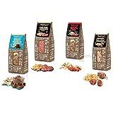 SNACKbag box snack misti monoporzione dolci e salati - 20 confezioni (5 pezzi x 4 gusti)...