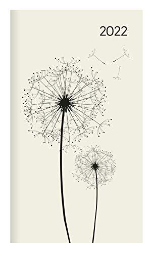 Miniplaner Style Pusteblumen 2022 - Taschen-Kalender 9x15 cm - Weekly - 64 Seiten - 1 Seite 1 Woche - Notiz-Heft - Alpha Edition