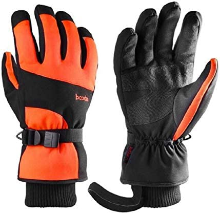 L mite MX Ski gloves Winter skateboard 30 cold and warm touch screen long cuffs windproof gloves product image