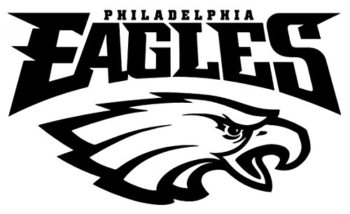 "Philadelphia Eagles Premium 7.5"" Die-Cut Vinyl Decal for Auto, Laptops, Yeti, Gear."