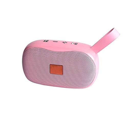 Bluetooth-Lautsprecher, 3D-Stereo-Sound Freihändige Anrufe Lautsprecher bewegliche drahtlose Subwoofer mit Rauschunterdrückung Mikrofon Außen Unterstützung FM und TF-Karte, Farben aviliable (Farbe: ge