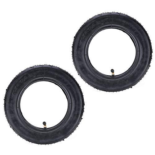 2 juegos de neumáticos y cámaras aire 2,125 pulgadas con vástago válvula...