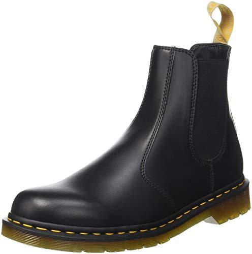 Dr. Martens Dr. Martens Unisex Vegan 2976 Chelsea Boots, schwarzFelix Rub Off 001, 46 EU