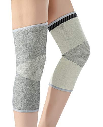 WLL Knieschoner/Knieorthese Kniebandage Männer Frauen Schnellere Erholung Mehr Stabilität Und Unterstützung Beim Sport: Skifahren, Laufen Und Mehr (Size : Small)