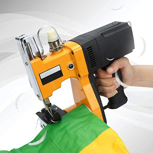 TTLIFE Máquina de coser portátil, máquina de cierre de bolsas portátil de 220 V, máquina de coser más cercana, costura eléctrica de bolsas de embalaje, sellado