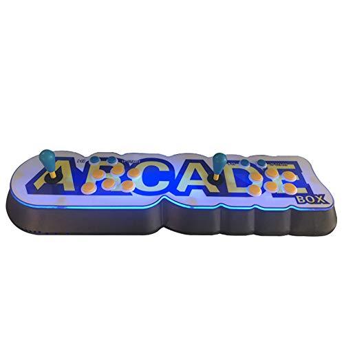 [3003 Juegos En 1] Vídeo Retro Arcade Consola CPU Full HD 4 Jugadores Soporte USB HDMI Multi-Color LED De Doble Balancín De Padres Y Juego Interactivo del Niño Máquina 29.13 * 10 * 2.95In