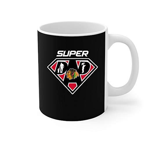 Chicago Blackhawks Super Dad Coffee Mug