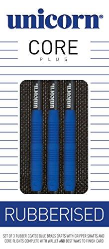 Unicorn Core Plus Rubberised Soft Dart, blau, 18g