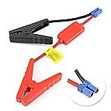 Cables de refuerzo de coche, cables de refuerzo de cables de salto de batería, Cable de puente EC5 de alta resistencia con pinza de cocodrilo para batería de arranque de coche de 12 V