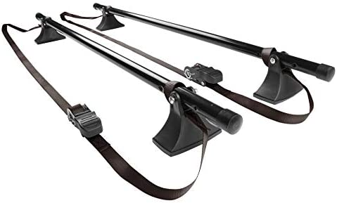 Seah Hardware Universal Roof Rack Cross Bars 2 PC 48 Inches Black product image