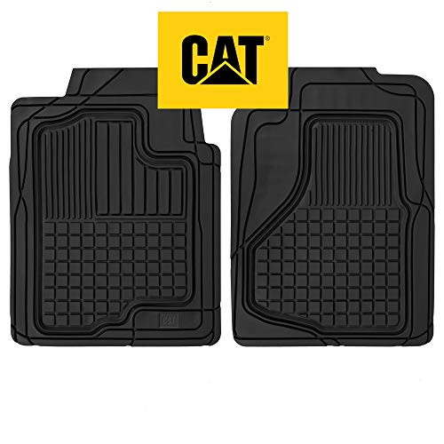 Caterpillar CAT Large Heavy Duty Odorless Rubber Floor Mats, Total Protection...