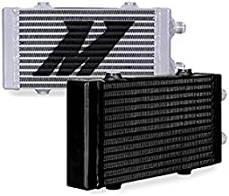 Mishimoto MMOC-DP-SSL Silver Bar and Plate Oil Cooler (Universal Dual Pass, Small)