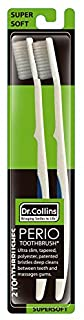 Dr. Collins Perio Toothbrush Value Pack, 2 Count
