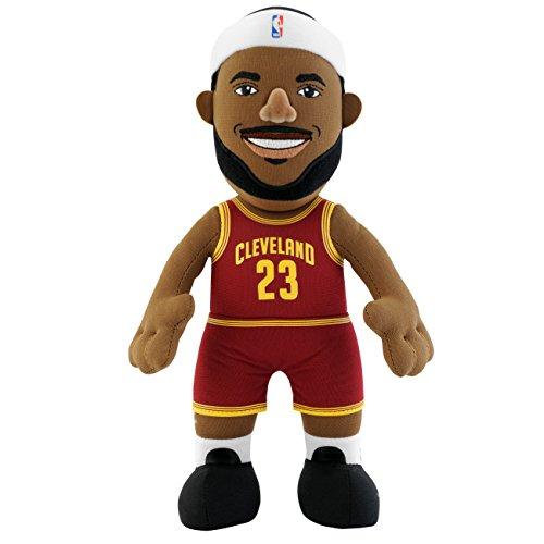 NBA Player 25cm Plush Doll Cavaliers - Lebron James (maroon)