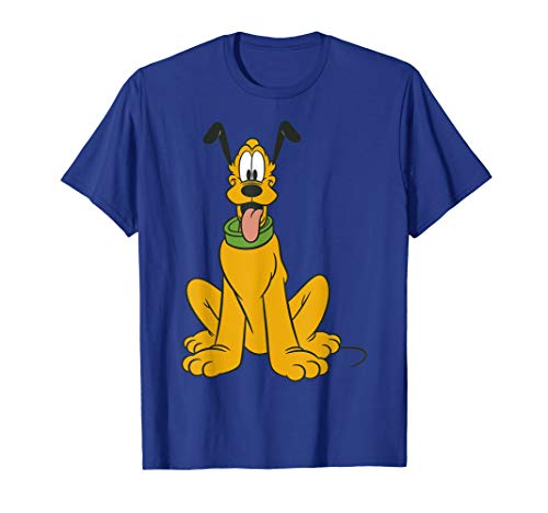 Disney Mickey Mouse Pluto The Dog Portrait Graphic T-Shirt