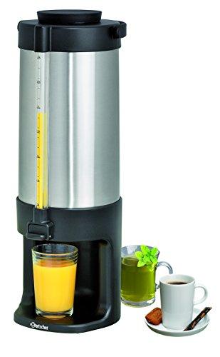 Bartscher Iso-Dispenser 3L, doppelwandig Edelstahl 3 Liter