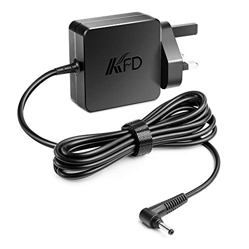 KFD Power Adapter 20V 2.25A Laptop Charger 45W for Lenovo IdeaPad 100 100-14IBY 110-15 100S-14IBR 110 110s 120s 310 310s 320 330 510 520 710 S145 V145 Yoga 310 510 520 530 N22 N23 B50-10 UK Plug Cable