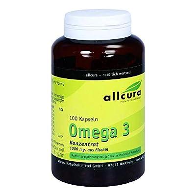 Omega 3 Konzentrat aus Fischöl 1000 mg Kapseln