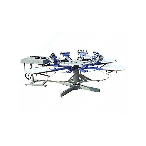 MABELSTAR 1 Set 8 Farben T-Shirt Siebdruckmaschine mit Basis guter Qualität