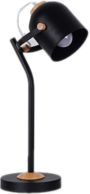 mas barato No No No estroboscópico dormitorio dormitorio escritorio dormitorio lámpara de mesa negro con 5 vatios tres-Color luz botón interruptor Tamaño 13 x 18 x 55cm  marcas en línea venta barata