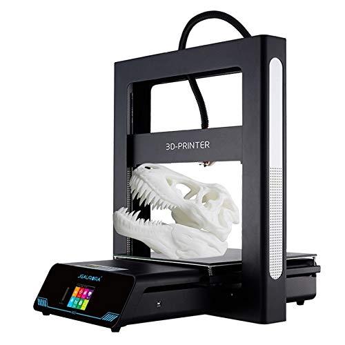 ZTH Imprimante 3D Physique tridimensionnelle 3D du Cadre de Plaque de métal de Haute précision de Bureau de JGAURORA A5S