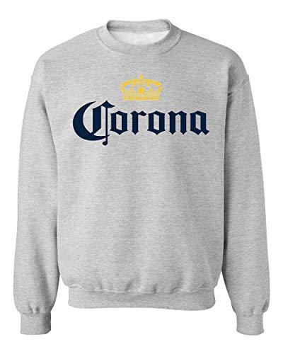 YoBrand Corona Beer Virus Unisex Sweatshirt Sweater Jumper XX-Large