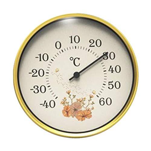 Fenteer 4 pulgadas hogar analógico Sauna termómetro pared mecánico casa Oficina Kitche Accesorios - Estilo 2