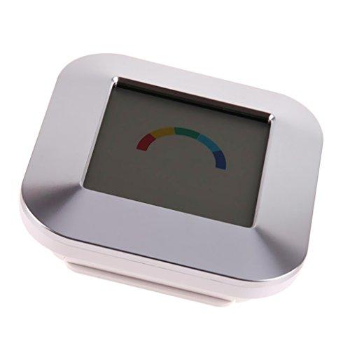 Non-brand Pantalla a Color Reloj Termómetro Digital Medidor de Higrómetro Estación Meteorológica